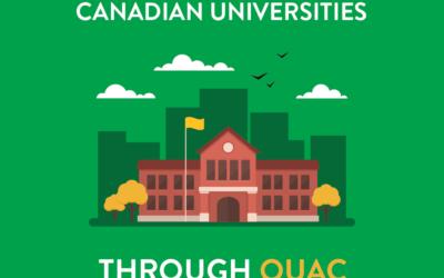 Applying to Canadian Universities